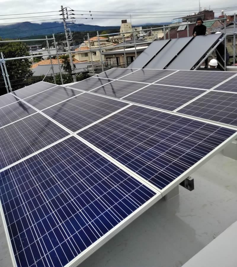 株式会社ケンセイ「太陽光発電、エコソーラー」の施工実績