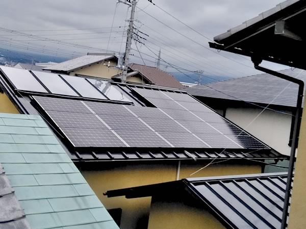 株式会社ケンセイ「太陽光発電・太陽熱温水器・蓄電池」の施工実績