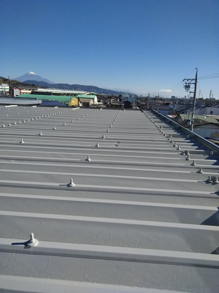 株式会社ケンセイ「屋根塗装」の施工実績