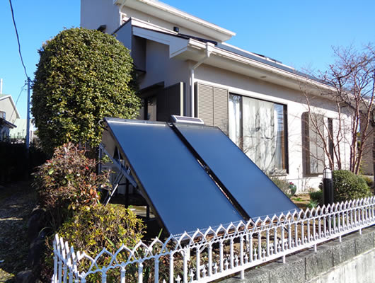 株式会社ケンセイ「太陽熱利用機器」の施工実績