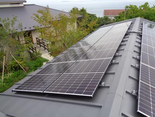 株式会社ケンセイ「太陽光発電」の施工実績